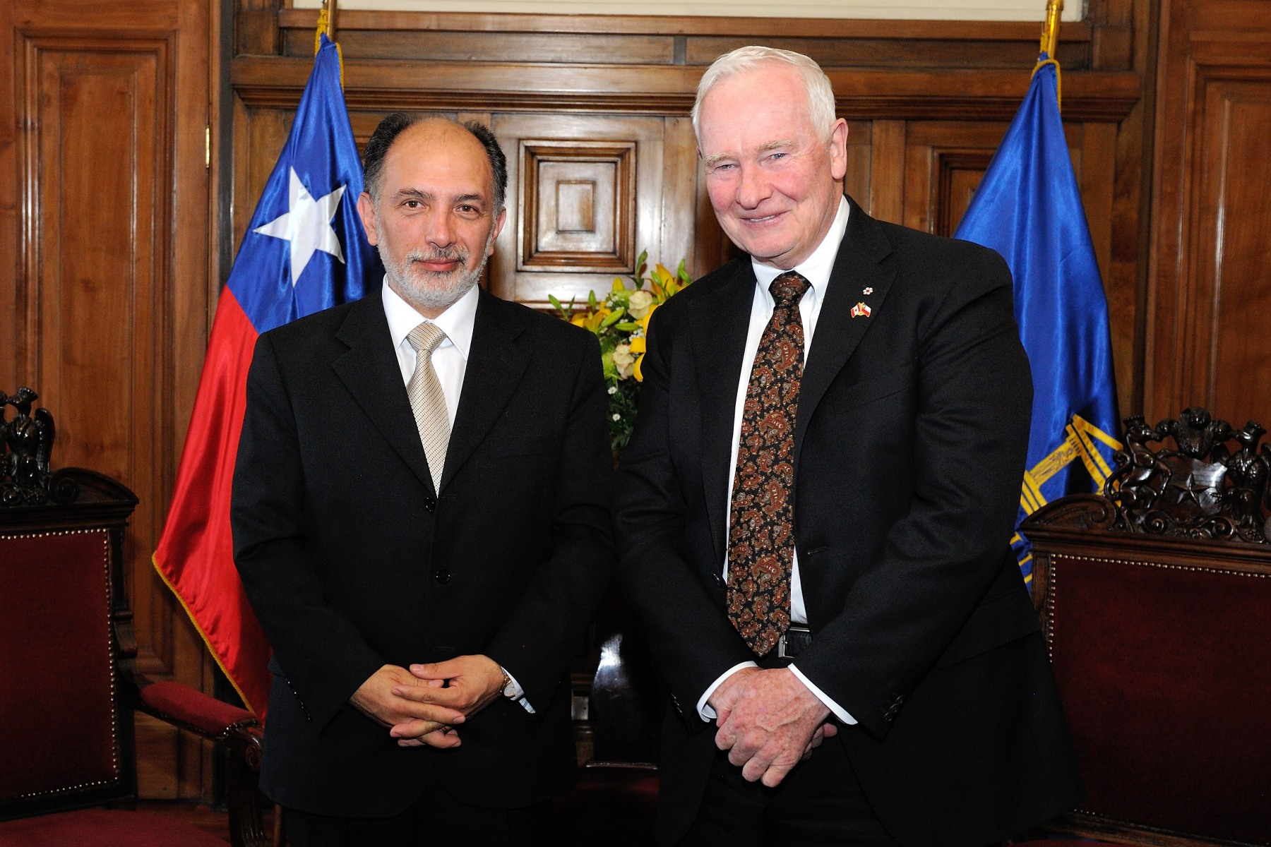 His Excellency met with Sergio Manuel Muñoz Gajardo, President of the Supreme Court of Chile.