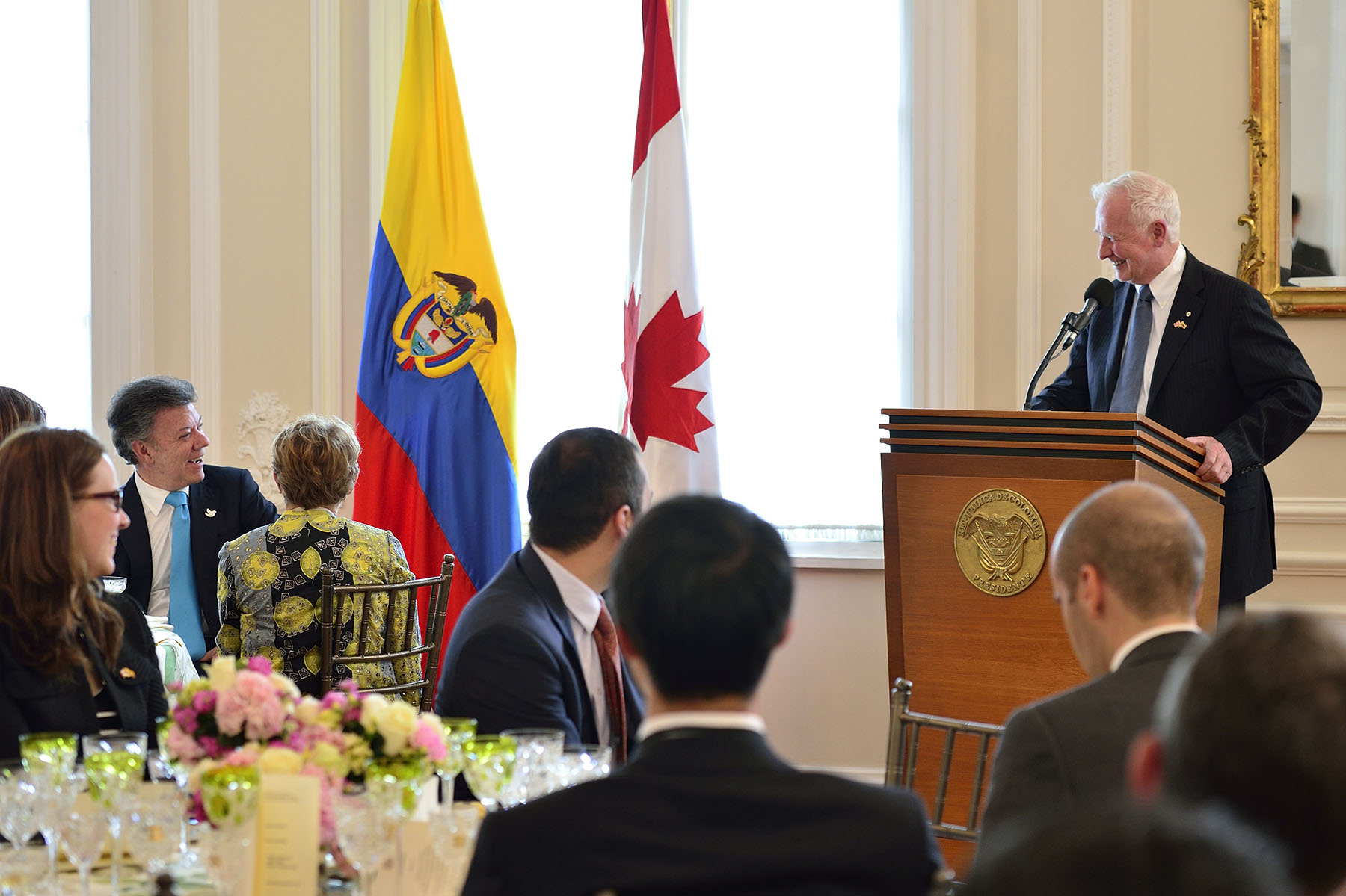 """Throughout my travel in Colombia, I hope to encourage young people here to come to Canada to study and to bring the message to Canadian youth that Colombia has much to offer in terms of learning opportunities,"" said His Excellency. ""Upon my return, and drawing from all that I will see in the coming days, I hope to encourage Canadian students to look further afield, and specifically to emerging markets like Colombia, for educational opportunities."""
