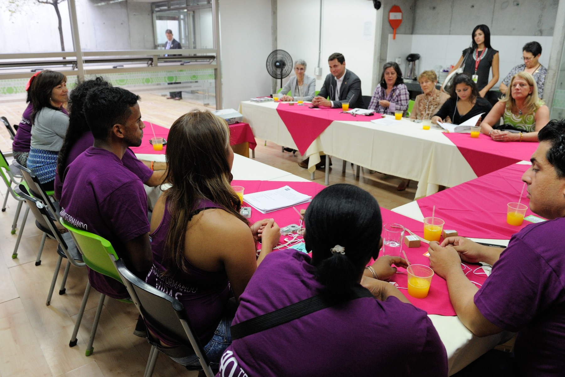 The YMCA of Greater Toronto has worked with ACJ-YMCA Medellín since 1992, to promote health, basic education and skills development for the youth of Comuna 13, an unplanned settlement in west Medellín.