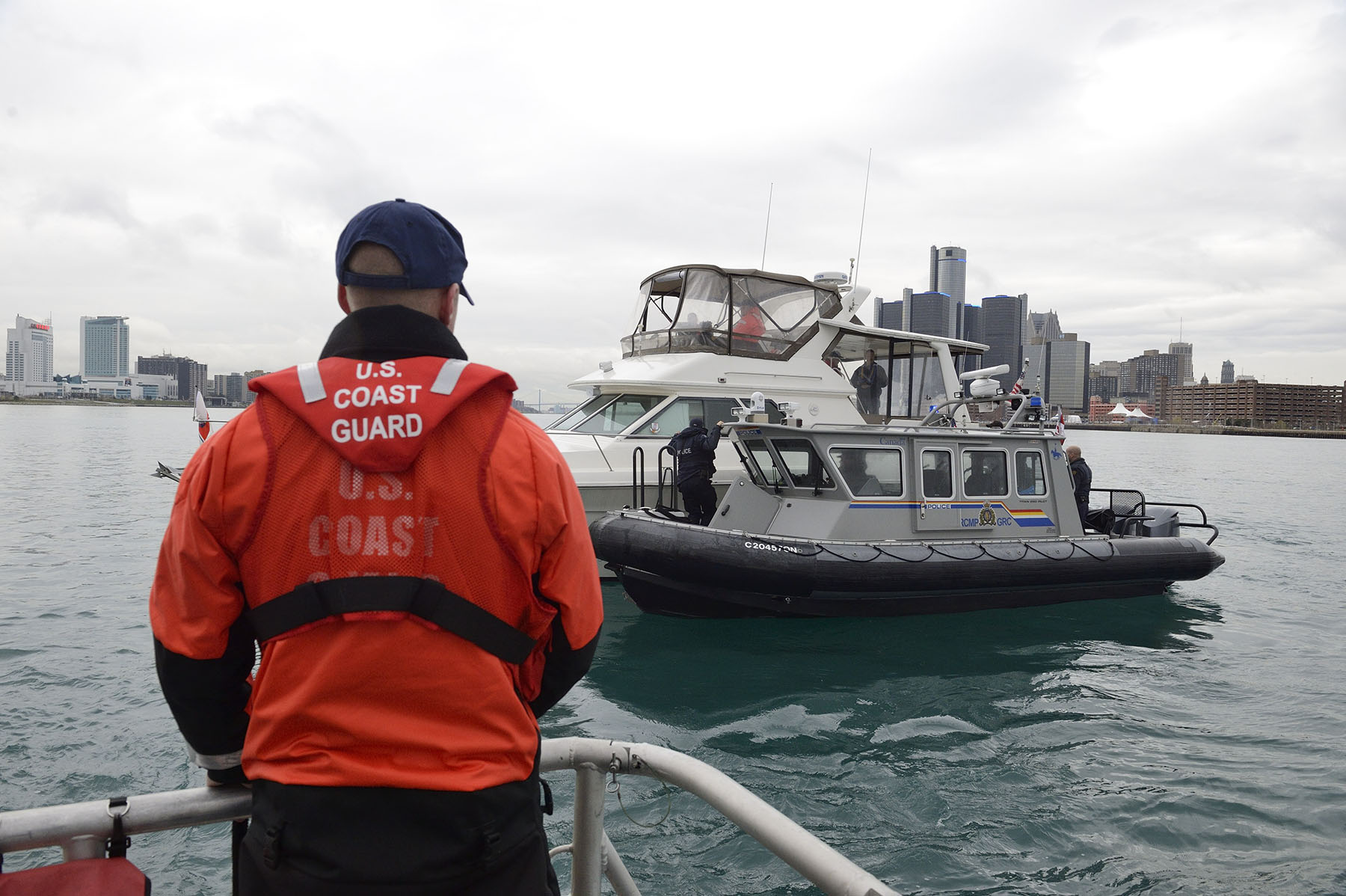 Canada-U.S. Shiprider represents a truly cooperative approach to combating cross border crime on Canada and U.S. shared waterways.