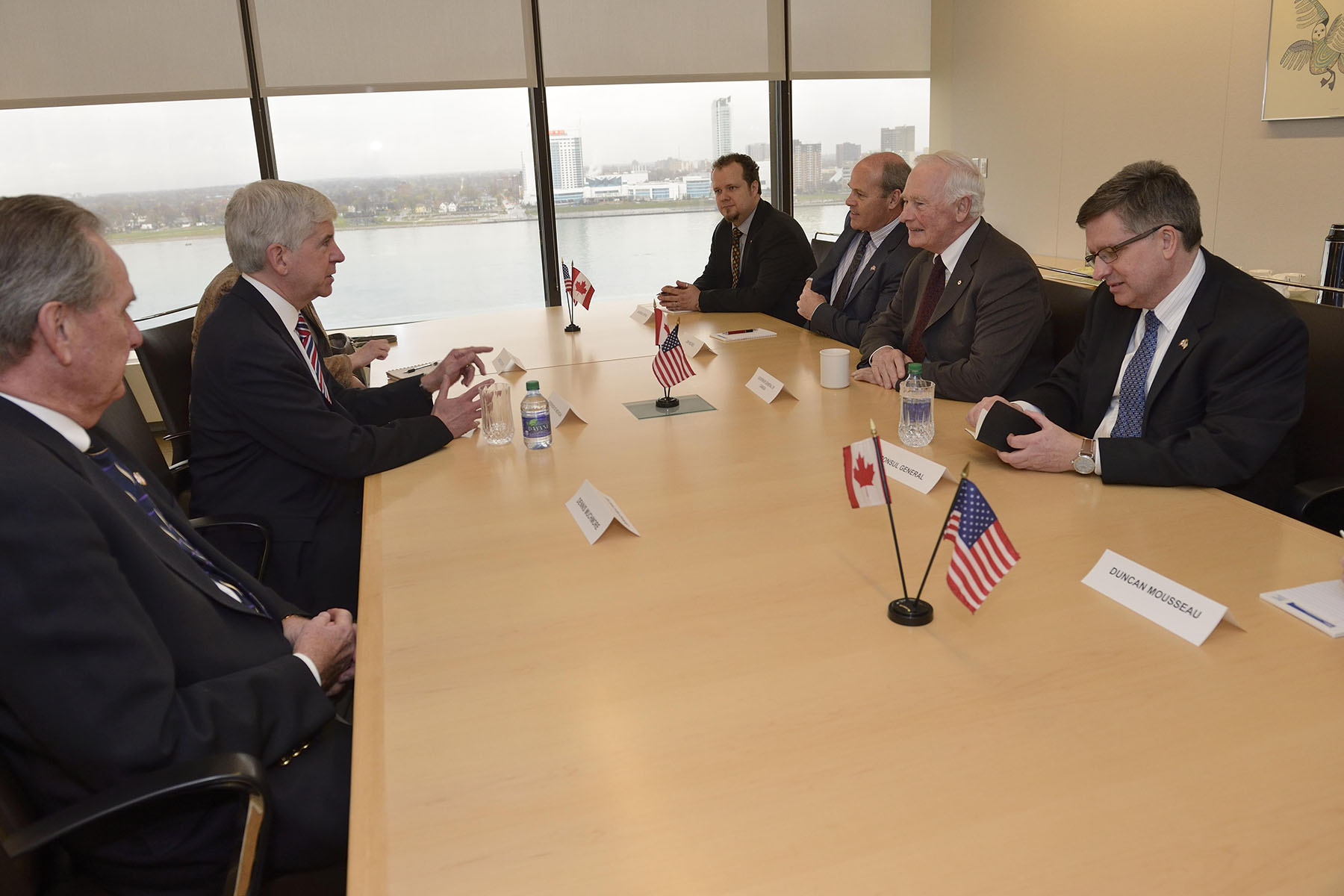 They discussed the importance of Canada-U.S. partnerships in North American competitiveness and Michigan economic prosperity.