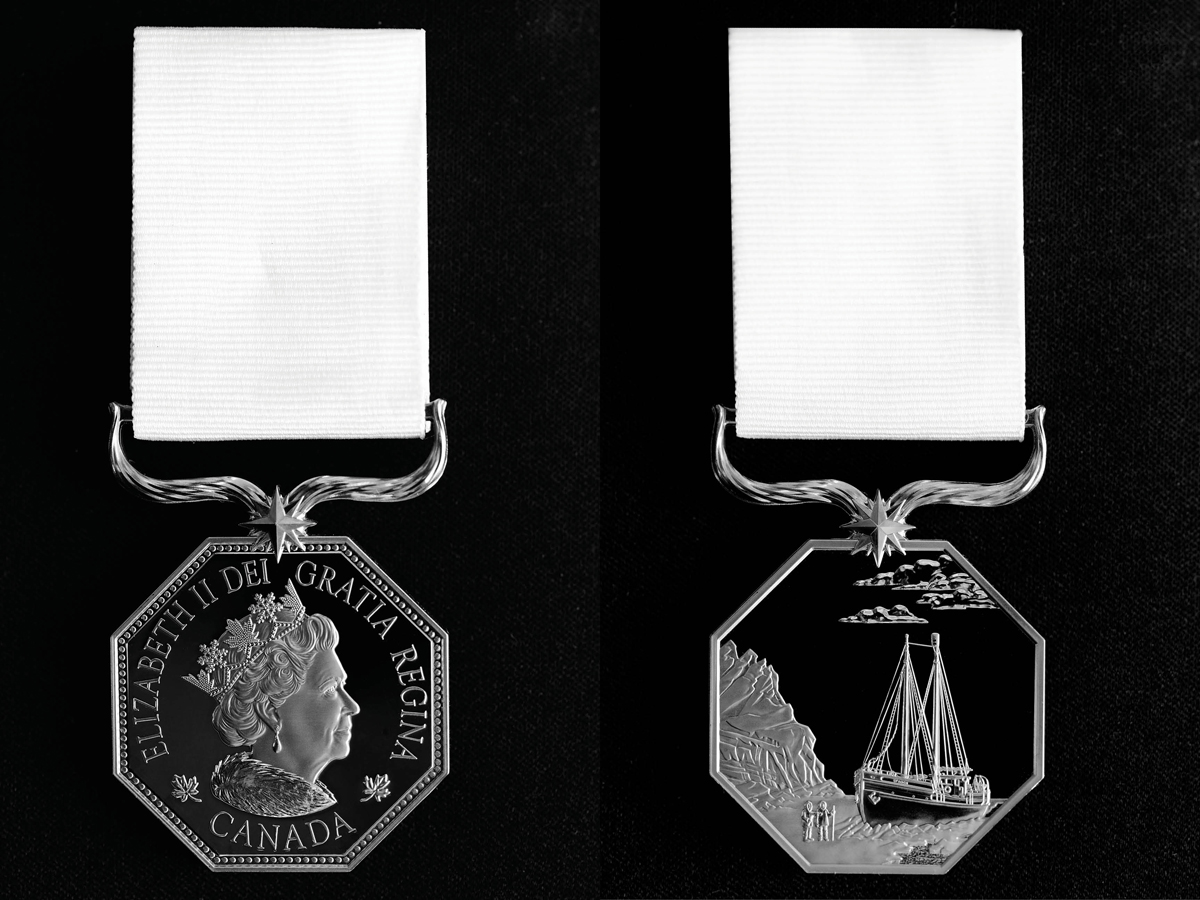 Part of the Canadian Honours System, the Polar Medal elevates the way we recognize individuals who contribute to northern communities and to our understanding of northern Canada and its people. It also highlights their achievements in polar exploration and scientific discoveries.