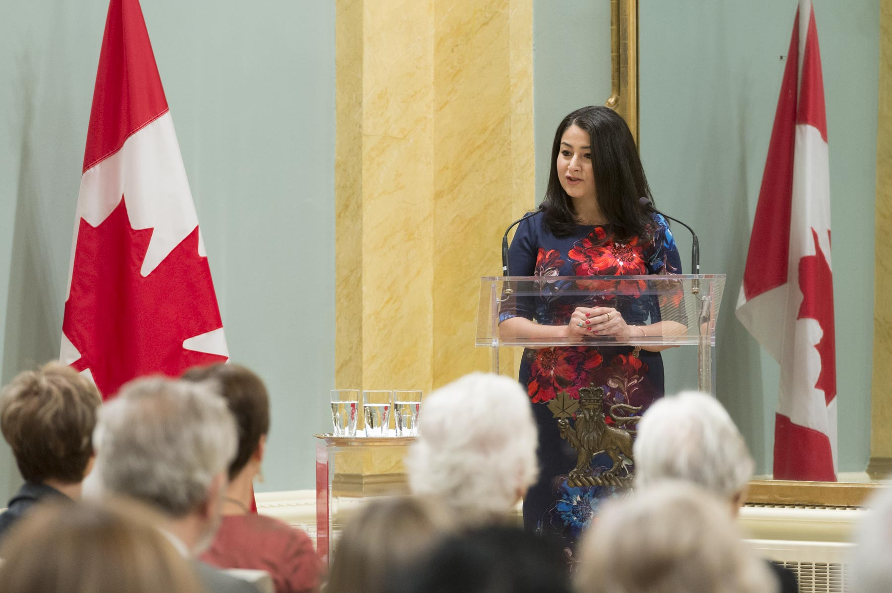 The Honourable Maryam Monsef, Minister of Status of Women, also delivered remarks.