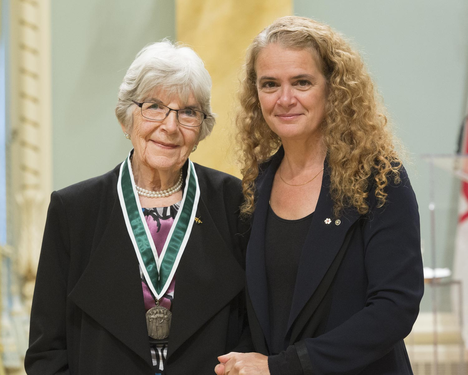 Betsy Bury, of Saskatoon, Saskatchewan, is recognized for her social justice initiatives in the areas of women's rights and access to health care services.