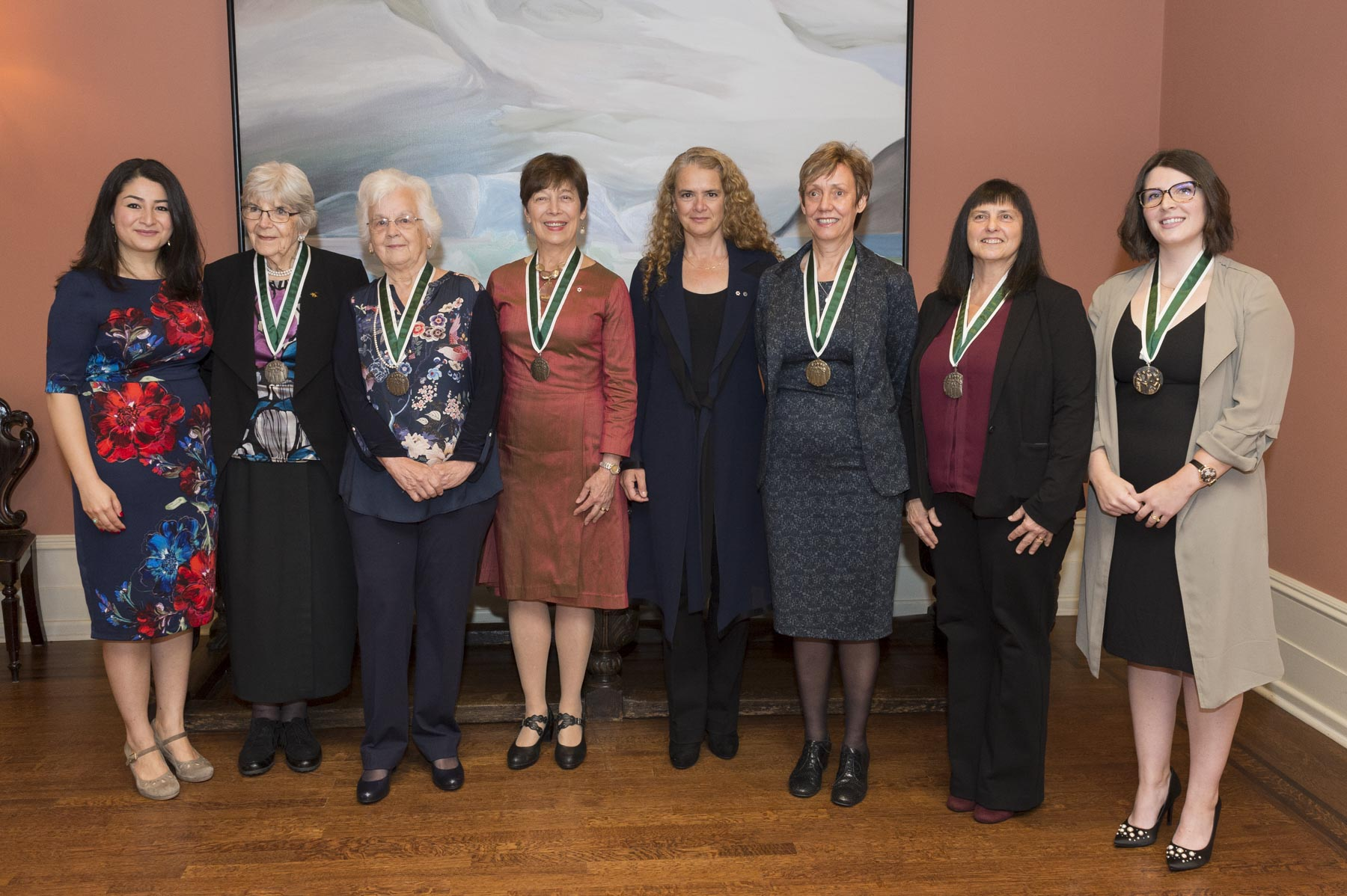 The Governor General's Awards in Commemoration of the Persons Case highlight Canadian contributions to the advancement of women's equality and celebrate Canada's evolution as an inclusive society.