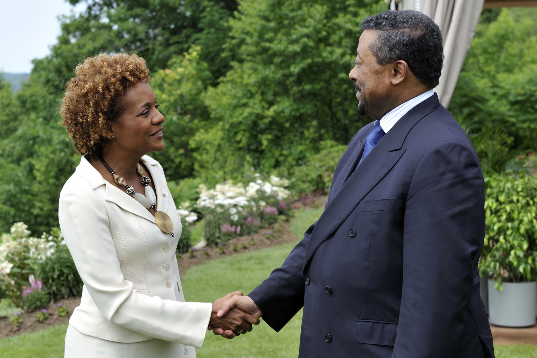 His Excellency Dr. Jean Ping, Chairperson of the African Union Commission.