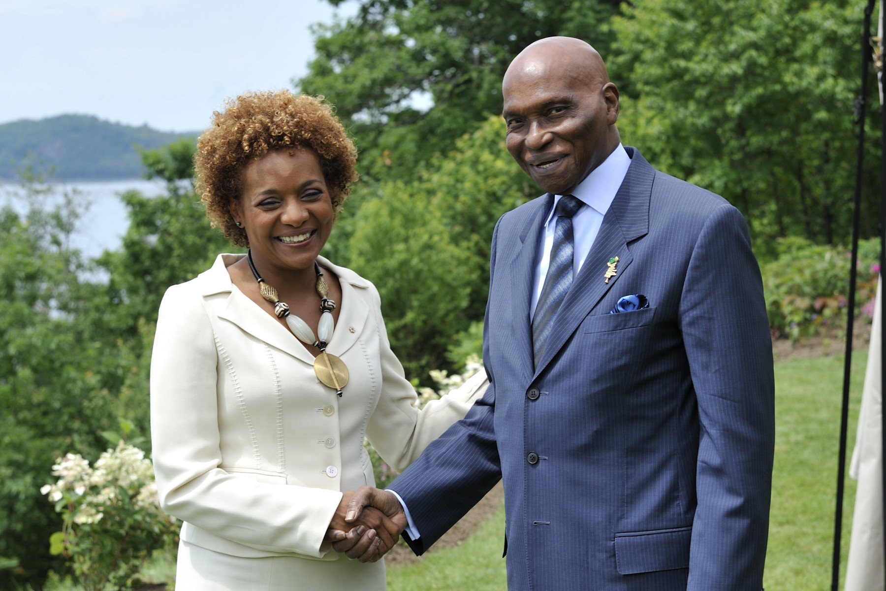 His Excellency Abdoulaye Wade, President of the Republic of Senegal