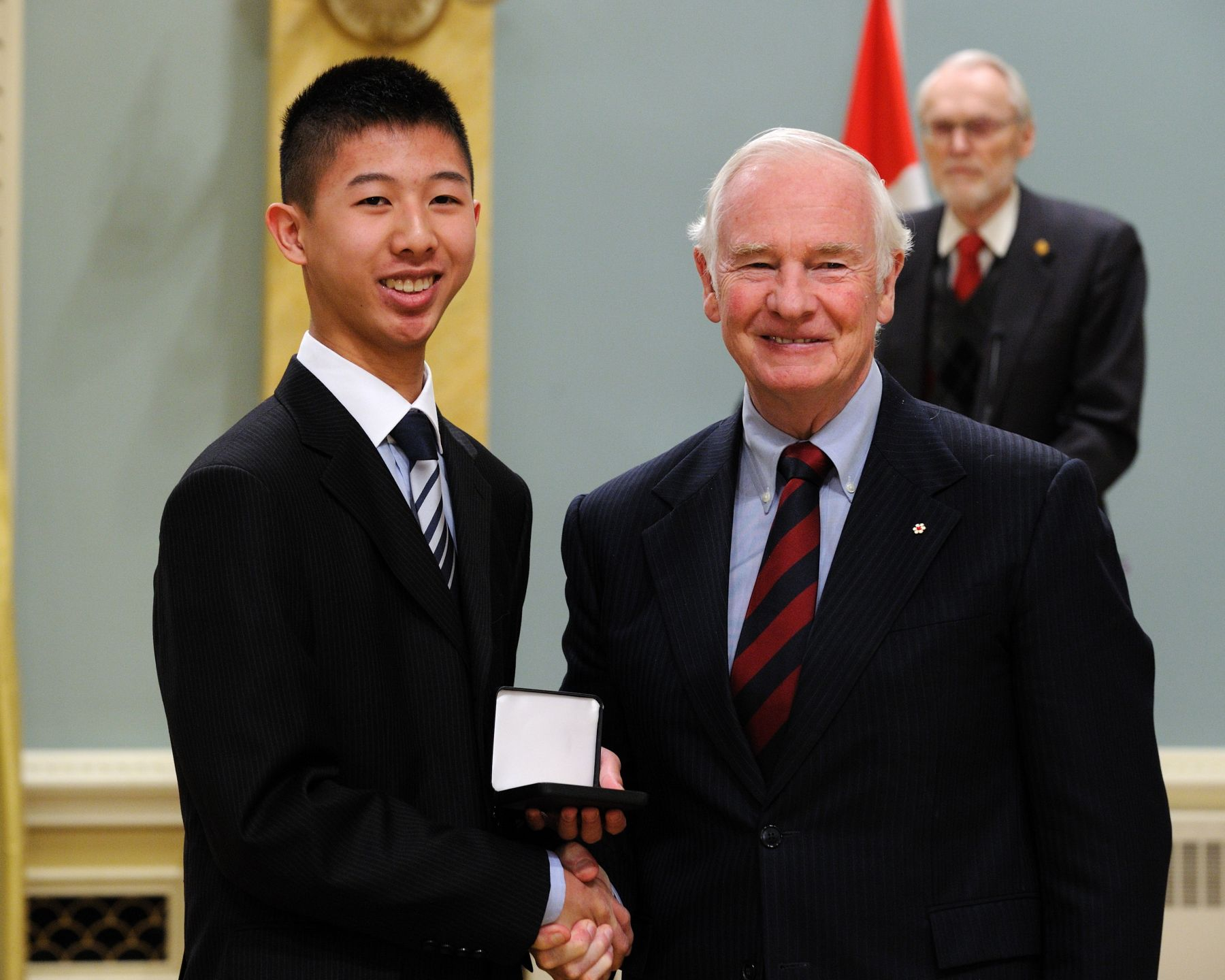 Jeffrey Tso of Burnaby, British Columbia, won the 2011 Begbie Canadian History Contest (English).