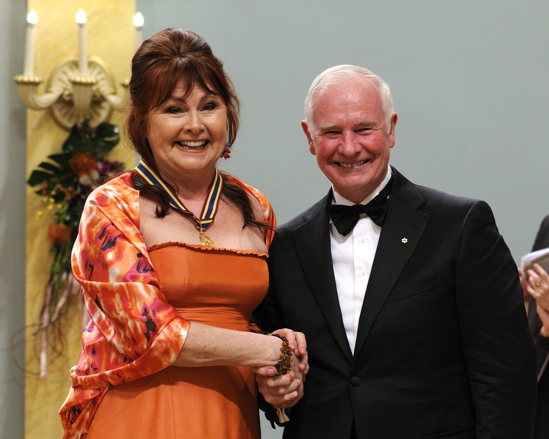 Ms. Mary Walsh, writer, comedian, director and political satirist, received the Lifetime Artistic Achievement Award.