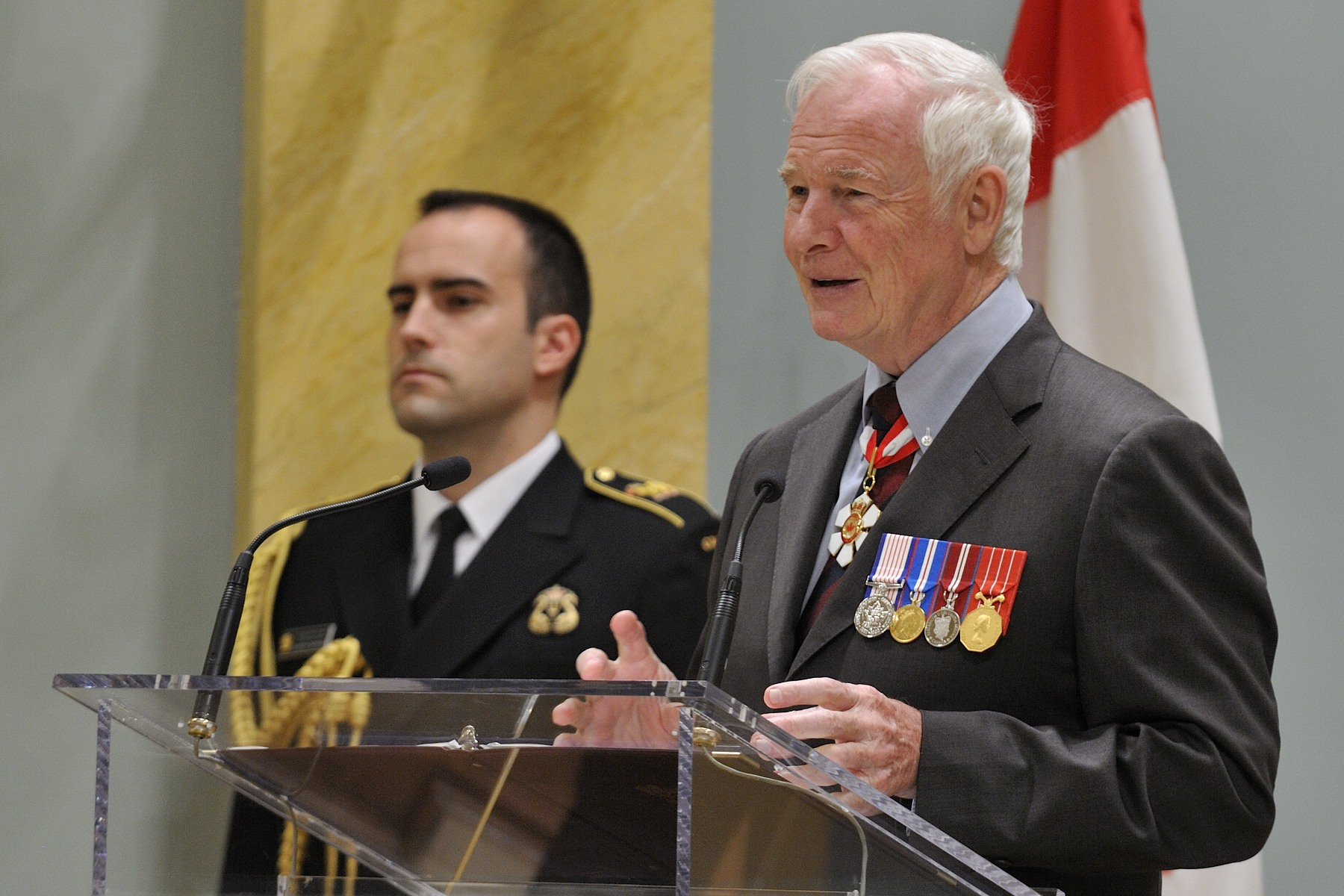 """Today, we honour some of the very best public servants,"" said His Excellency. ""You are here because your department recognized in you the effort, creativity and dedication to service that are indicative of the public service of today. And you are here not only as individuals, but also as representatives of your colleagues, whose own hard work cannot be overlooked."""