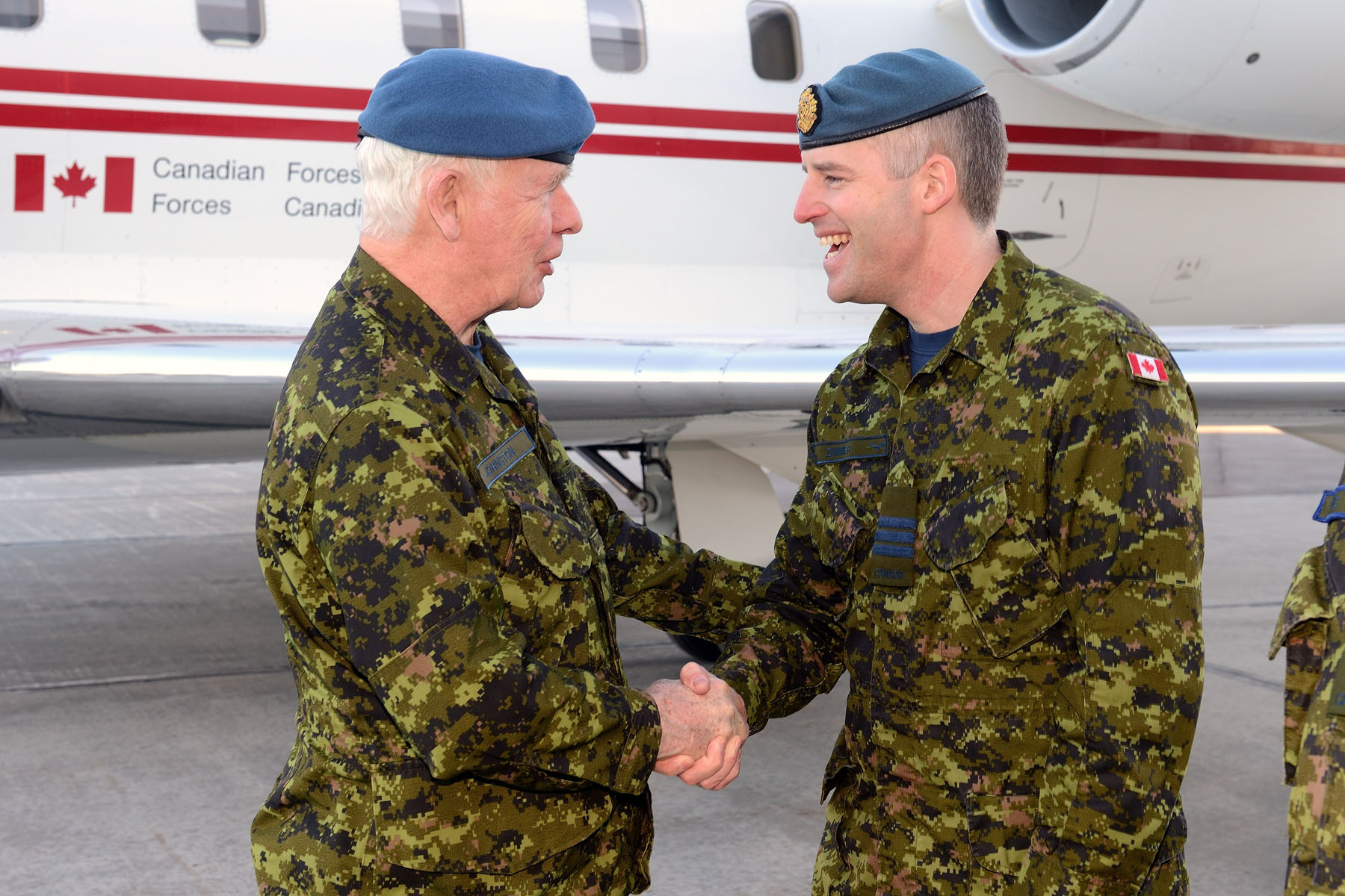 Upon his arrival at the 4 Wing Cold Lake's Aerospace Engineering Test Establishment,  