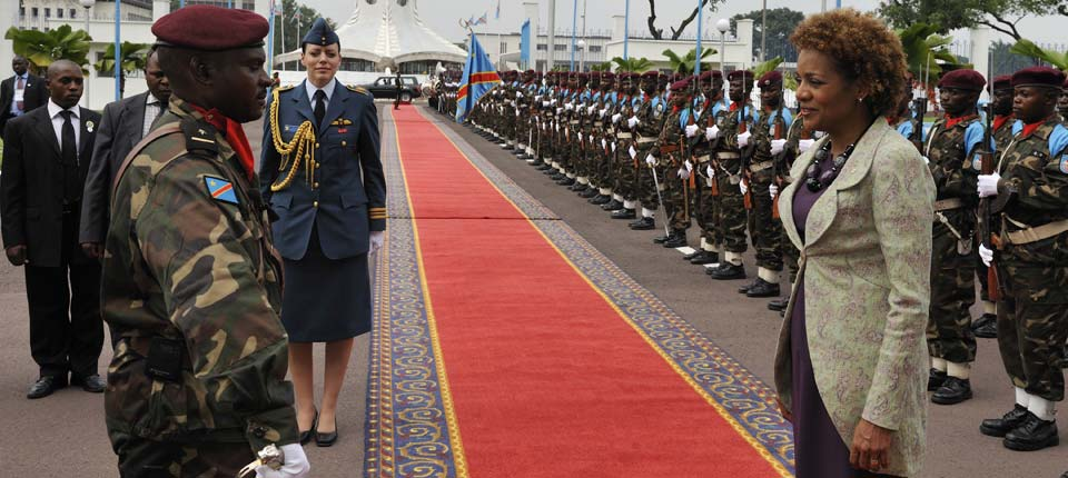 Welcoming Ceremony in Congo