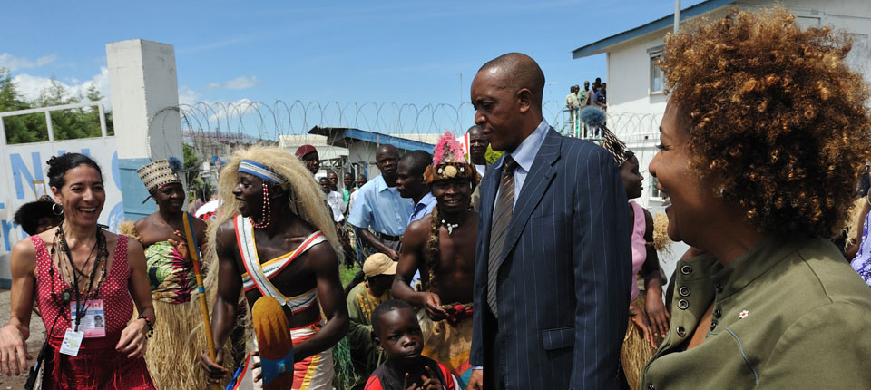 Arrival in Goma