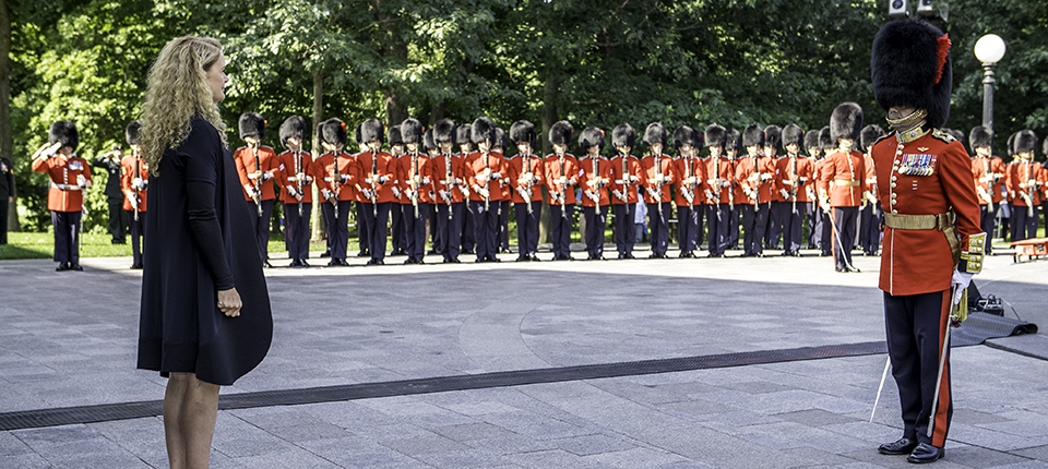Annual Inspection of the Ceremonial Guard