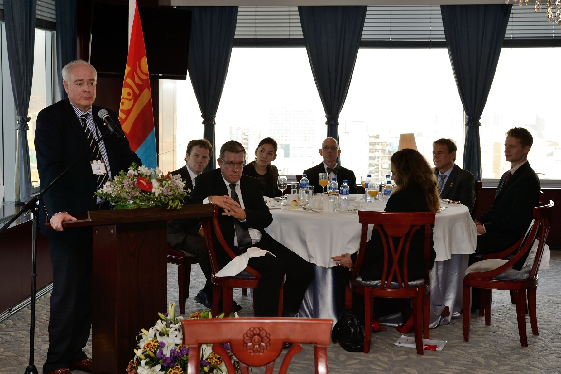 Together, those in attendance explored how Canada can continue to contribute to Mongolia's prosperity and democratic development.