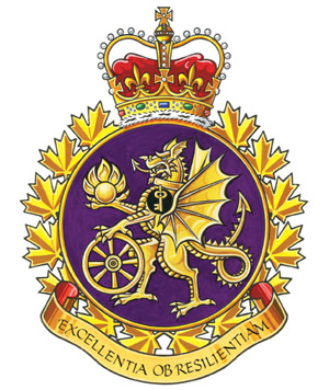 Canadian Forces Material Support Group Badge