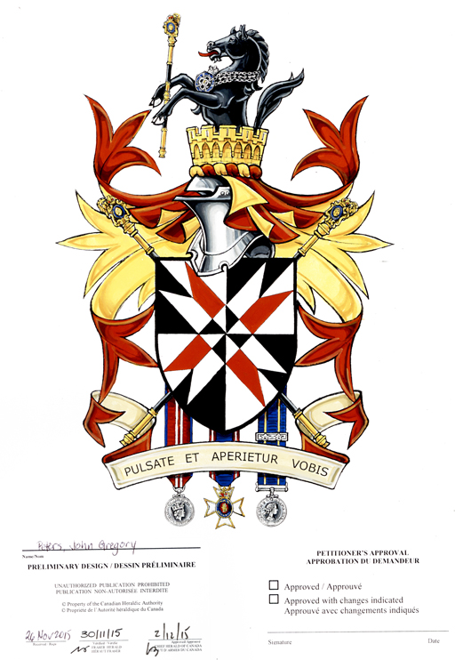 Apply For A Coat Of Arms Flag Badge The Governor General Of Canada