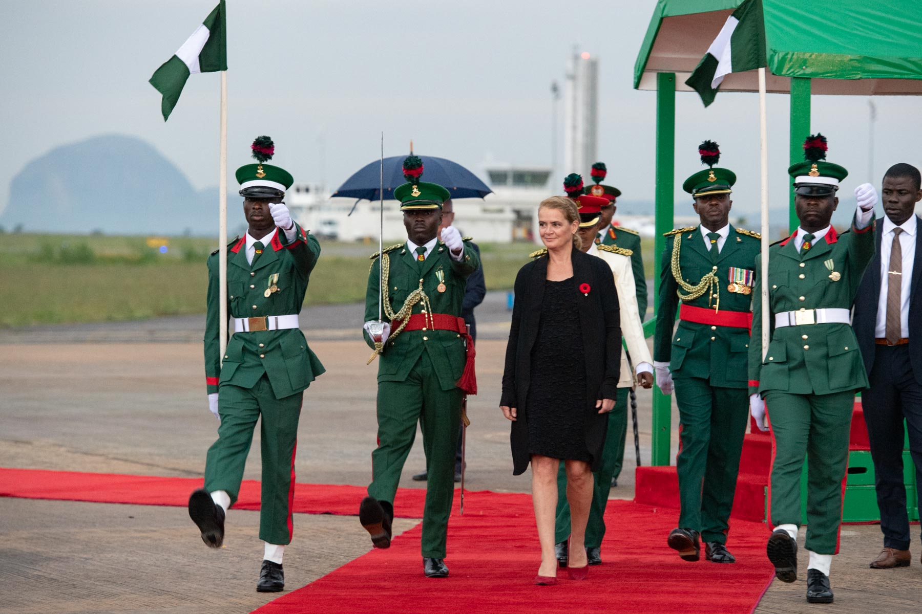 State Visit to Nigeria   The Governor General of Canada