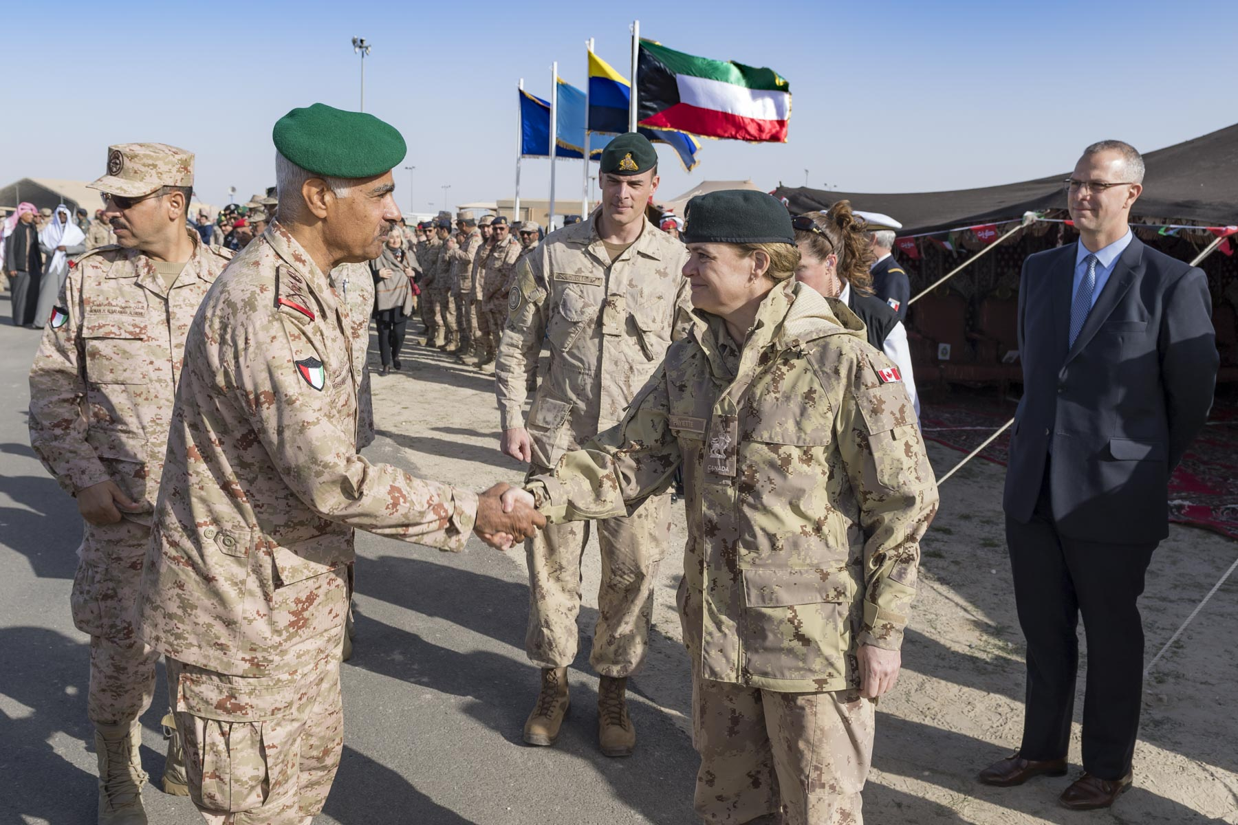 Visit to Kuwait and Iraq | The Governor General of Canada