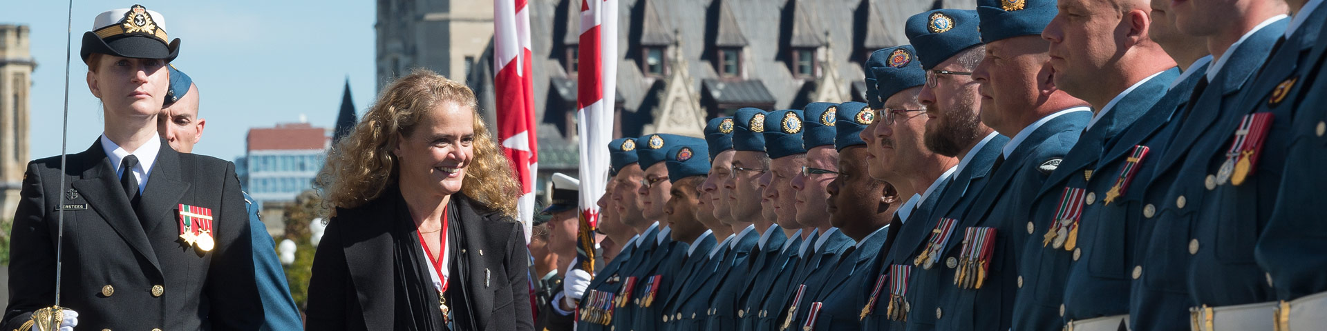 The Governor General of Canada Her Excellency the Right Honourable Julie Payette