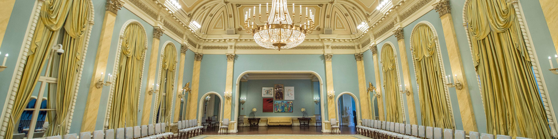 The Ballroom at Rideau Hall