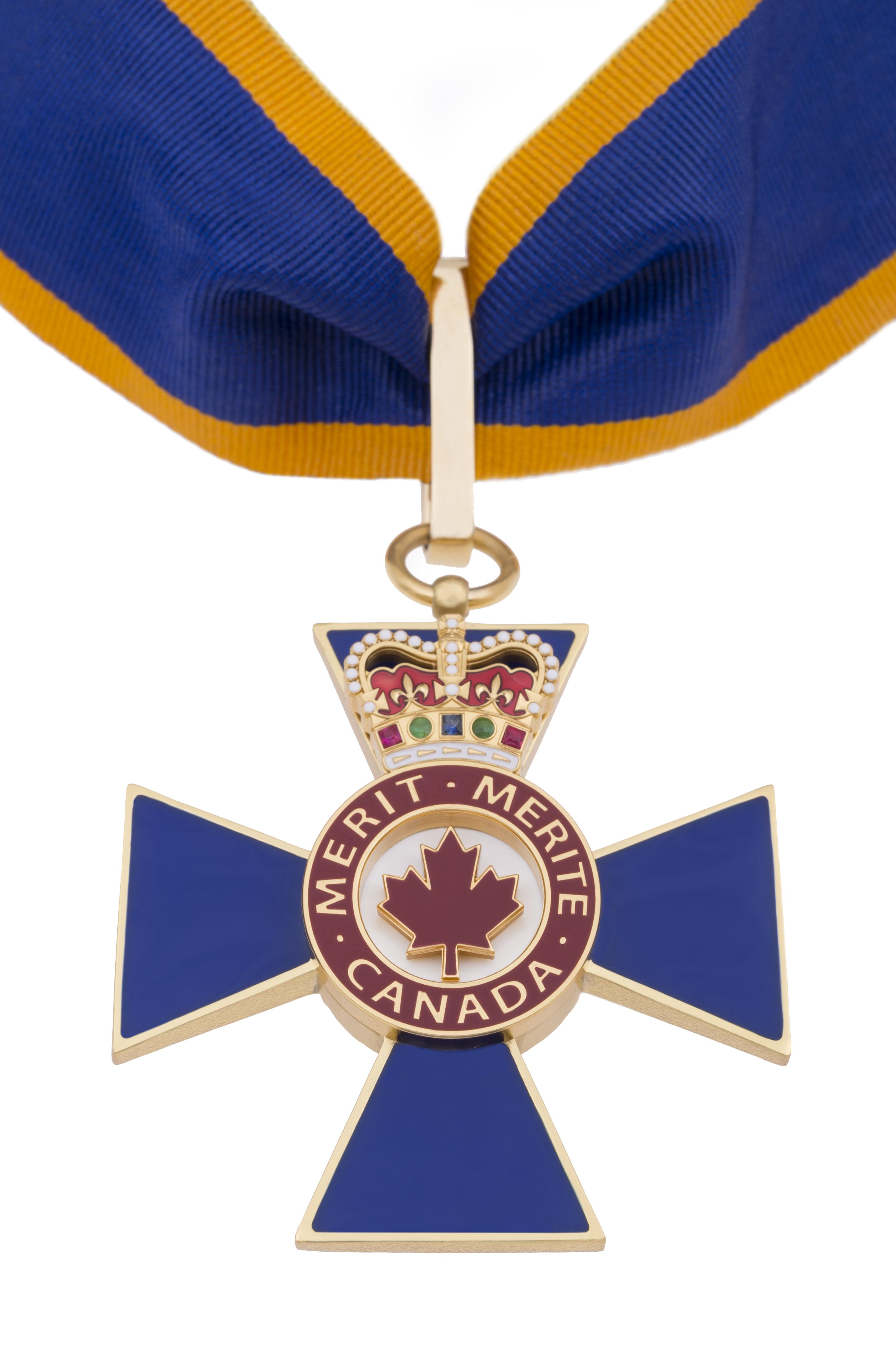 Ruban pour chevalier de l/'Ordre du Mérite Militaire.