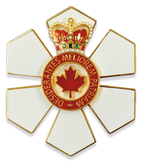 Order of Canada Companion (C.C.) Medal