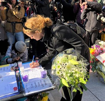 Vigil in Toronto