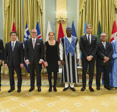 Presentation of Letters of Credence at Rideau Hall