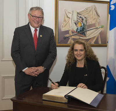 Official Visit to the City of Québec - Day 1