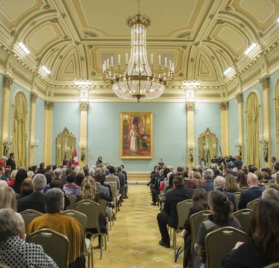 Presentation of Meritorious Service Decorations (Civil Division)