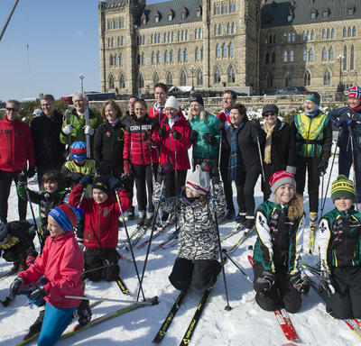 Cross-Country Ski Event on Parliament Hill