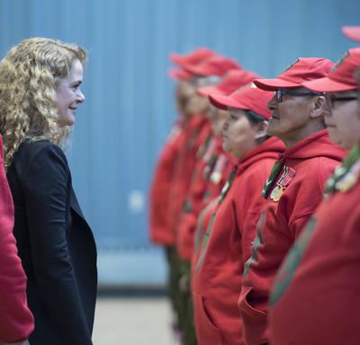 Official Visit to Nunavut