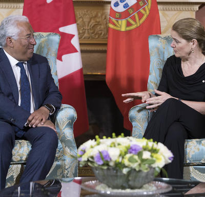 Meeting with the Prime Minister of Portugal