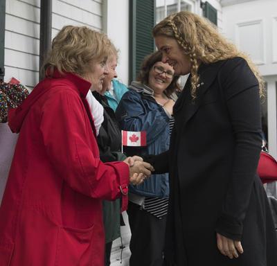 Visite officielle à l'Île-du-Prince-Édouard
