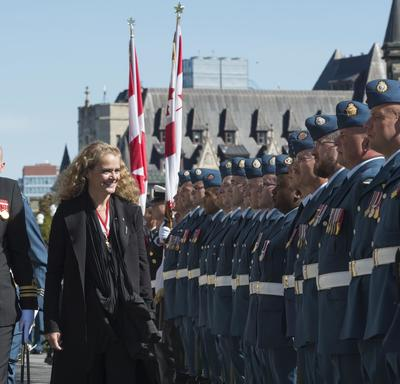 Installation Ceremony of Canada's 29th Governor General