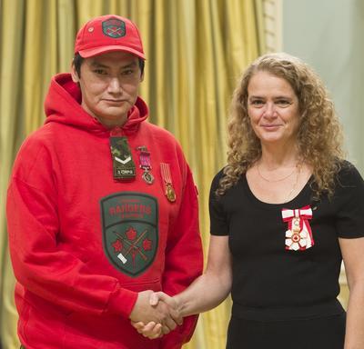 Presentation of Decorations of Bravery
