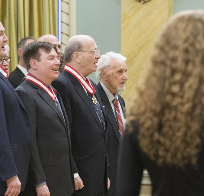 Order fo Canada Investiture Ceremony