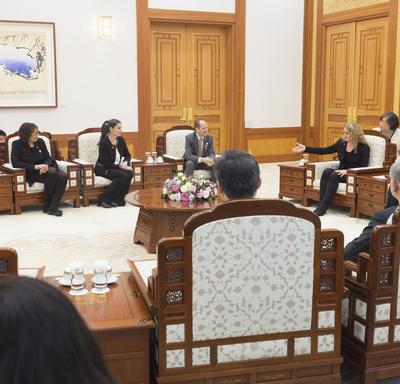 Visit to the Republic of Korea - Day 1
