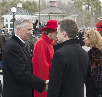 State Visit by King and Queen of the Belgians