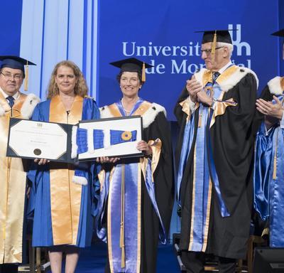 Honorary Doctorate - Université de Montréal