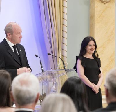 Cérémonie de remise du Prix Michener