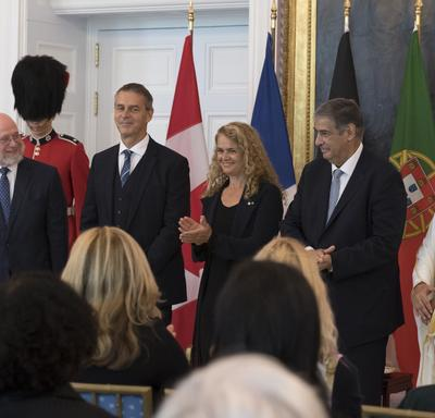 Presentation of letters of credence