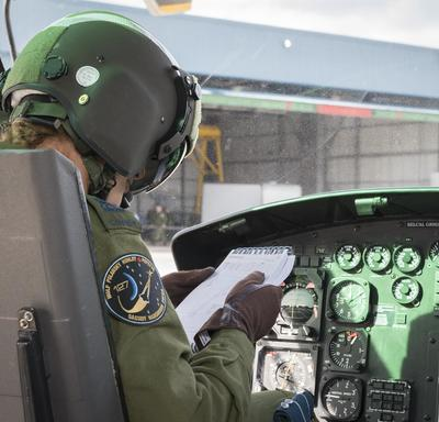 On September 21, 2018, Her Excellency started her day in Happy Valley-Goose Bay with a visit to 5 Wing Goose Bay.