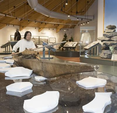 The Labrador Interpretation Centre showcases Labrador's rich Indigenous history.