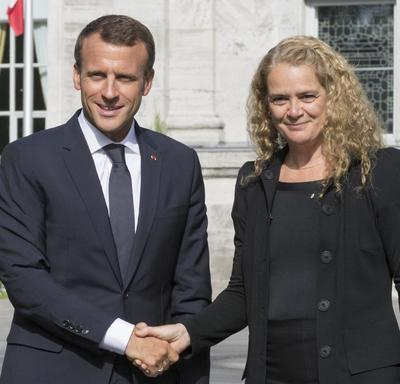Meeting with the President of the French Republic