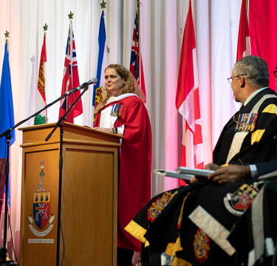The Governor General addressed the 2019 graduating class.