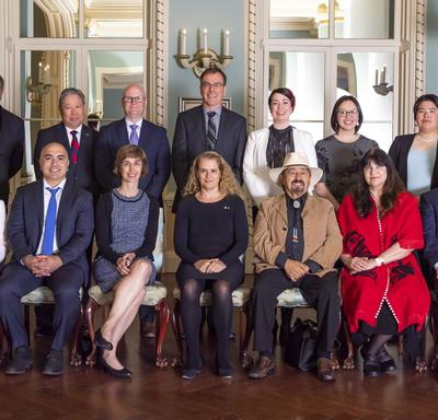 Group picture of Governor General's Innovation Awards recipients and Governor General.