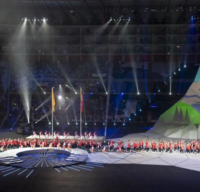 Des spectacles culturels péruviens ont fait partie de la cérémonie d'ouverture.