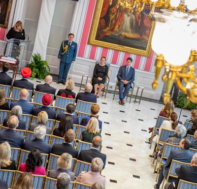 Her Excellency presided over the swearing-in ceremony of Canada's 23rd prime minister and members of his Cabinet.